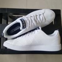 Sepatu Adidas Neo Advantage Clean White/Black 100% Original Surabaya