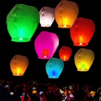 LAMPION KERTAS   LAMPION TERBANG   FLYING LANTERN   LENTERA TERBANG
