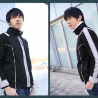 Black Kirito SAO Jacket / sword art online anime cosplay jaket hoodie
