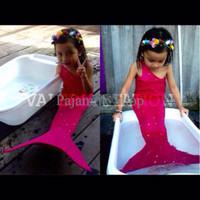 Promo Akhir Tahun Baju kostum renang mermaid / putri duyung semua umur