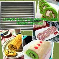 Loyang Bolu Gulung Zigzag/ Gerigi/ Roll Cake/ Spiku/ Lapis Surabaya
