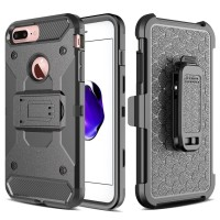 Apple iPhone 7 7S PLUS XGEAR Armor w/ Holster Case Full Protection