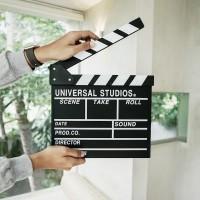 Otangale| clapper board properti foto papan sutradara hiasan film unik