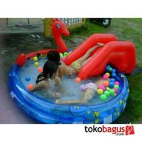 (h0t) kolam renang anak Viking Pool perosotan | kolam ular perosotan