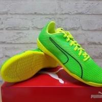 Sepatu Futsal Puma 365 Ignite CT Green Yellow 103988-02 Original