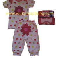 Carter Setelan Baju Pendek Celana Panjang 2in1 (2Set) Girl & Boy