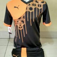Kaos Setelan Futsal Puma / Jersey Volly / Kostum Bola / Baju Kaos Tim