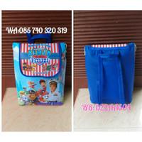 Goodie bag tas souvenir ulang tahun/ultah anak model ransel full color