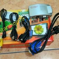 VGA to TV RCA Converter - Converter PC to TV