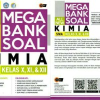 All New Mega Bank Soal Kimia SMA Kelas X, XI, & XII