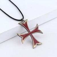 kalung Templar Salib Assassin's Creed Necklace assasin asassin kreed