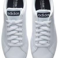 Sepatu Pacaran Adidas Neo Advantec Original Indonesia White Black/Navy