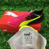Sepatu Futsal Puma EvoPower II - Pink Volt