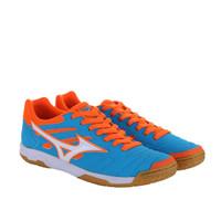 Sepatu futsal mizuno original Sala Classic 2 IN atomic blue