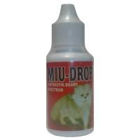 MIU DROP antibiotik board spectrum obat pilek diare kucing anjing