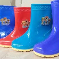 Sepatu Boots Boot Anak Kids Shoes Karet Rubber Jelly Anti Air Murah