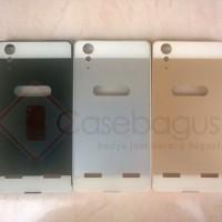 Lenovo A6000 / A6000 Plus Aluminium Bumper With Back Cover Case Casing