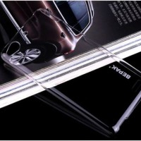 Lenovo A6000 - Plus Bepak Crystal Clear Case Back Cover Case Casing