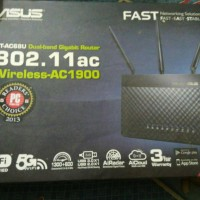 Asus RT-AC68U Dual-band Wireless-AC1900 Gigabit Router [SECOND]