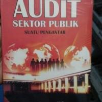 Audit Sektor Publik suatu pengantar, Ihyaul Ulum MD
