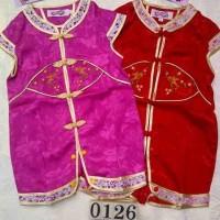 Baju fashion anak bayi cewek perempuan cina imlek Qipau baby 0126