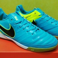 Sepatu Futsal Nike Tiempo Mystic V Blue Tosca