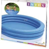 Intex Crystal Blue Pool 1.14m. Kolam Renang Karet Anak