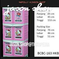 Lemari plastik serbaguna Napolly BCBC 163 - HKBF