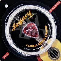 Senar Gitar Akustik Nylon Legacy (Bonus Pick) A106 Hard Tension