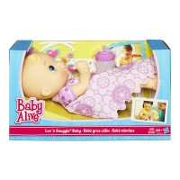 Baby Alive Luv n Snuggle Baby Doll Blonde - A5841