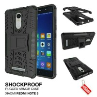 Xiaomi Redmi Note 3 / PRO Casing Armor Rugged Back Case Cover Stand