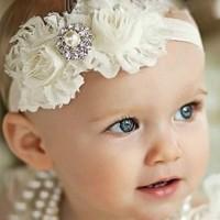 bando bandana pita Headband bayi anak balita impor BHA1003