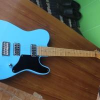 Gitar Elektrik Fender Telecaster Cabronita Blue ( Custom )