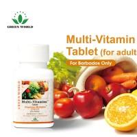 Multi Vitamin Tablet Green World Untuk Dewasa 100% Original