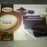 Brownies Kukus Amanda - Rasa Original