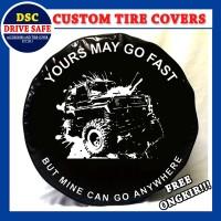 Cover Ban atau Sarung Ban Mobil Daihatsu Taft Design Go Fast