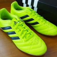 Sepatu Futsal Original Adidas Goletto V IN Yellow Volt