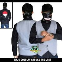 Baju kemeja rompi cosplay Sasuke the last