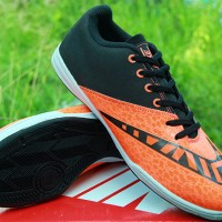 sepatu futsal Nike Elastico Finale III Hitam Orange KW Super (terbaru)
