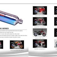 knalpot Prospeed blue series R25 & Ninja 250