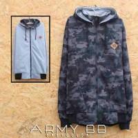 jaket vans bb army grey