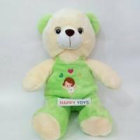 boneka bear baju dansa hijau