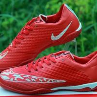 Sepatu Futsal Nike Elastico Superfly Merah Grade Ori Murah