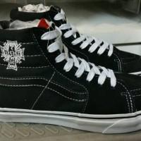 Sepatu Vans SK8 - High Classics Dogtown Hitam Putih