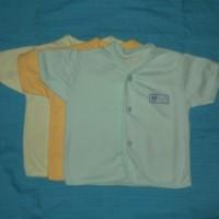 Baju bayi new Born tangan pendek Mek I-Ol Baby - 3Pcs