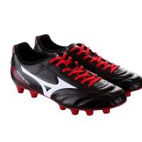 Sepatu Bola Mizuno P1GA152396MONARCIDA FS MD (WIDE) - BLACK/WHITE/RED