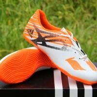 Sepatu Futsal Anak Adidas Adizero X.15 Chaos Orange Putih (Sepatu 2016