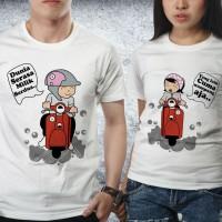 Baju Valentine Couple - Kaos Pasangan - Scooter