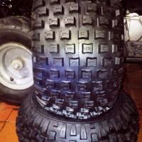 BAN ATV KNOBBY -OFF ROAD ukuran 16 x 8.00-7 tubles merk DEESTONE