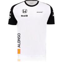 Original T-Shirt Team F1 McLaren Honda Fernando Alonso